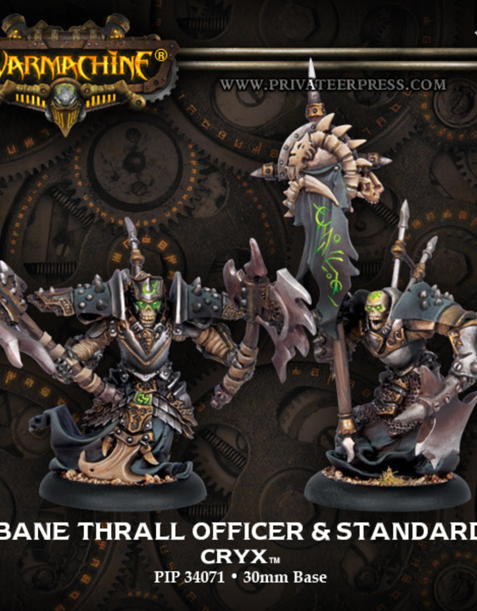 Warmachine Cryx - Bane Thrall Officer