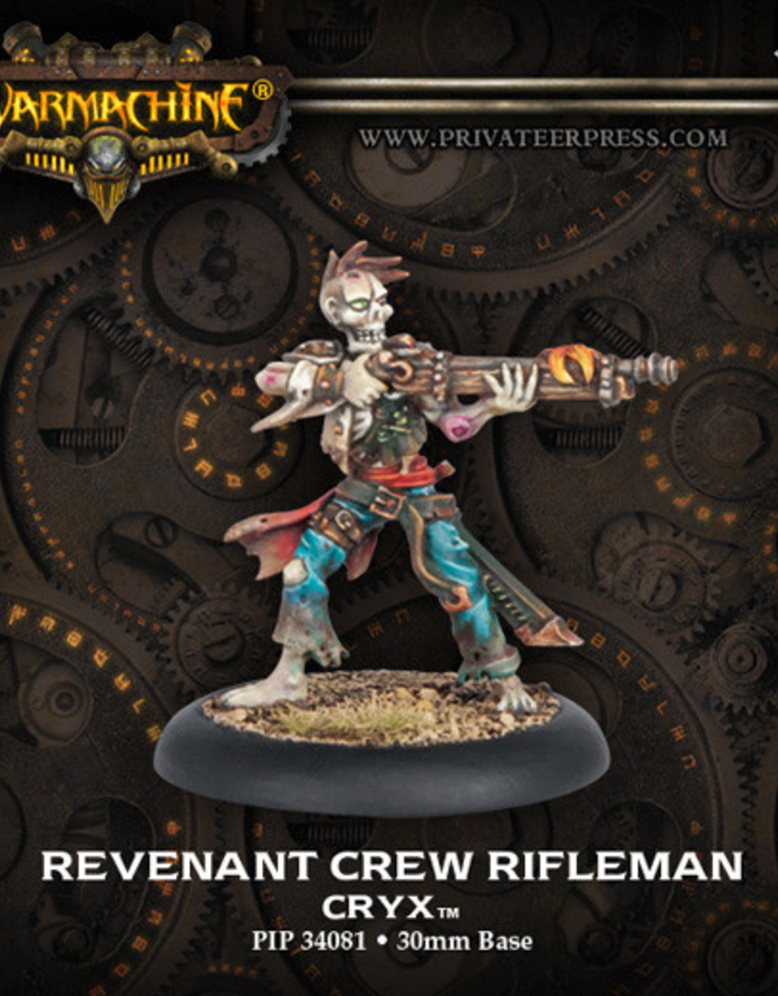 Warmachine Cryx - Revenant Rifleman