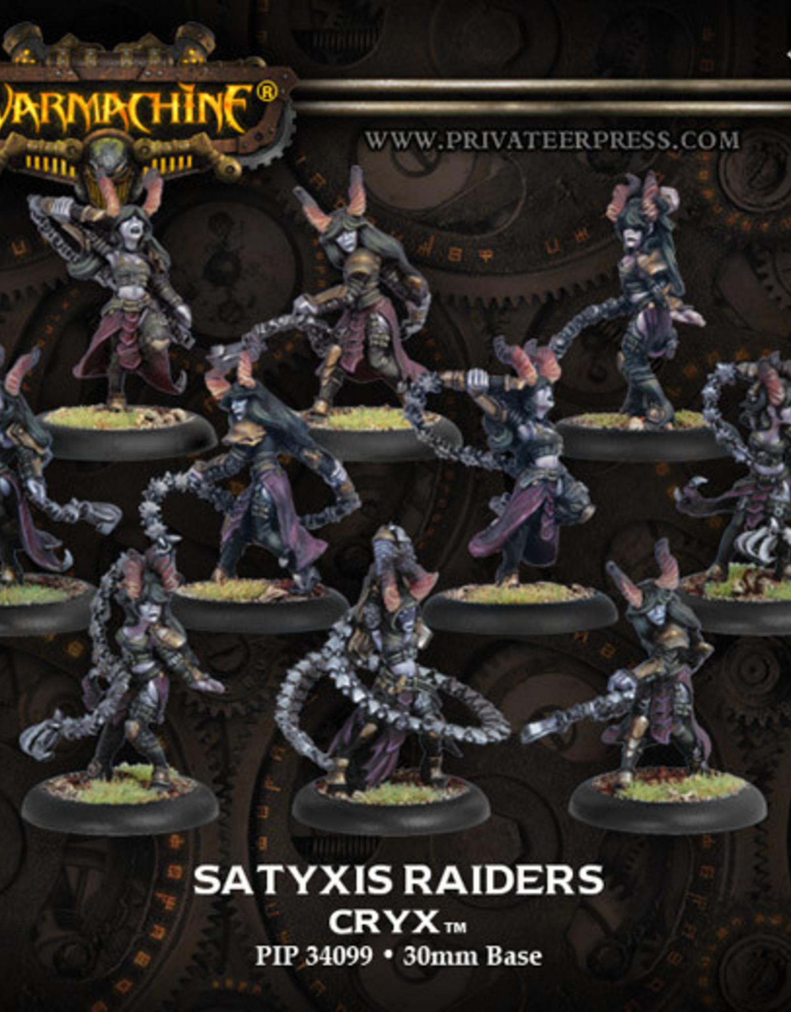 Warmachine Cryx - Satyxis Raiders