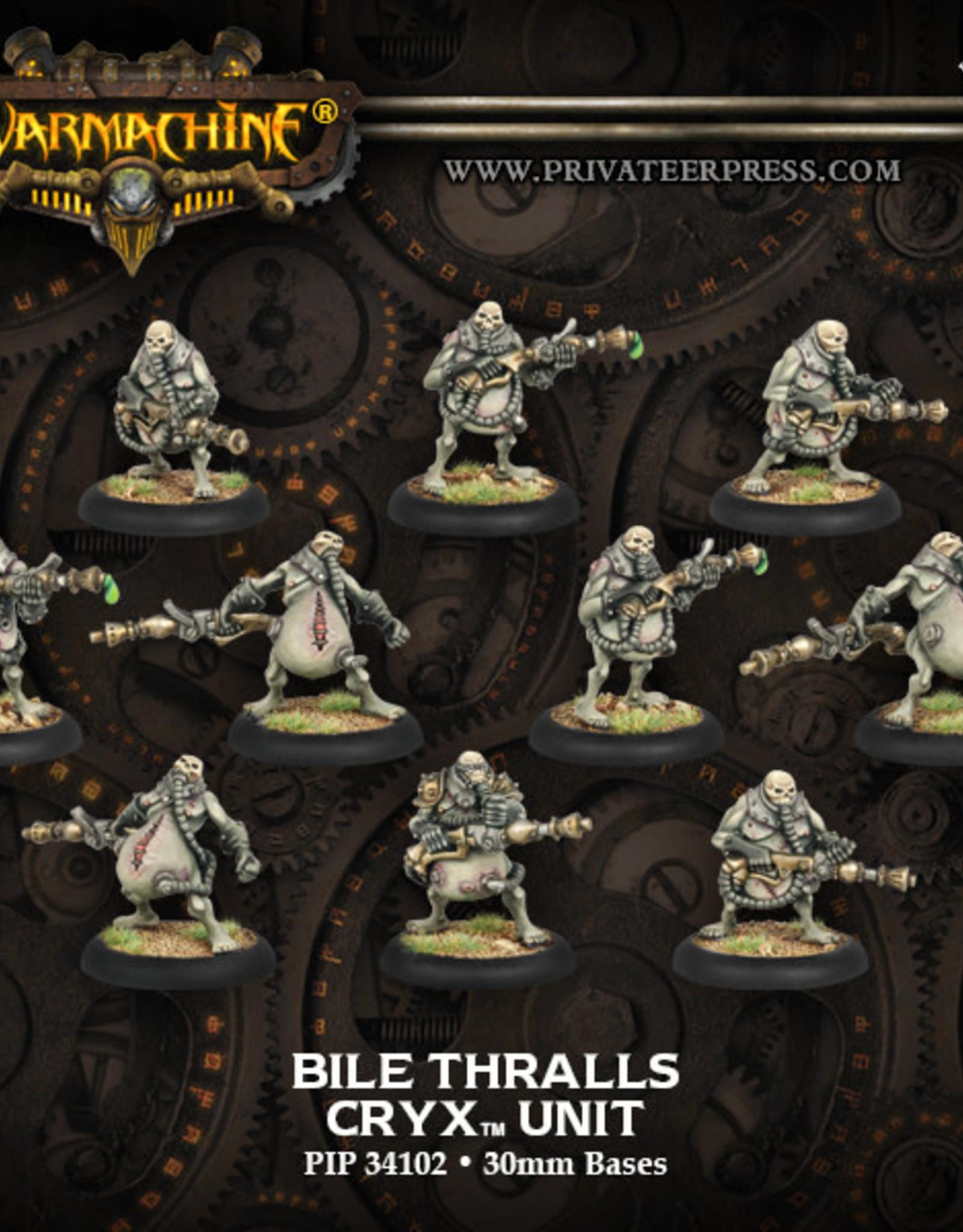 Warmachine Cryx - Bile Thralls Unit