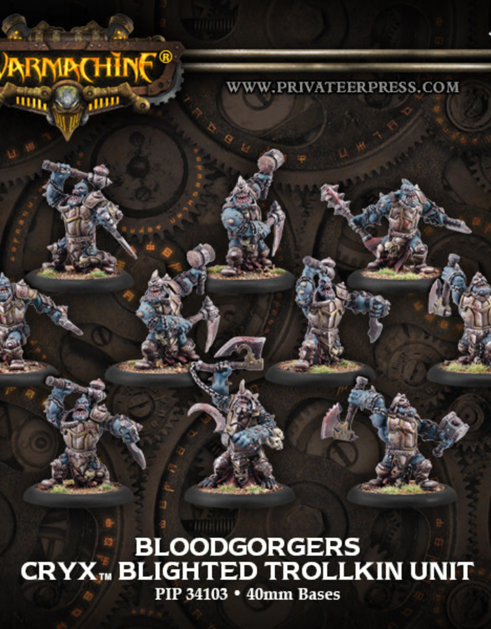 Warmachine Cryx - Bloodgorgers(full)