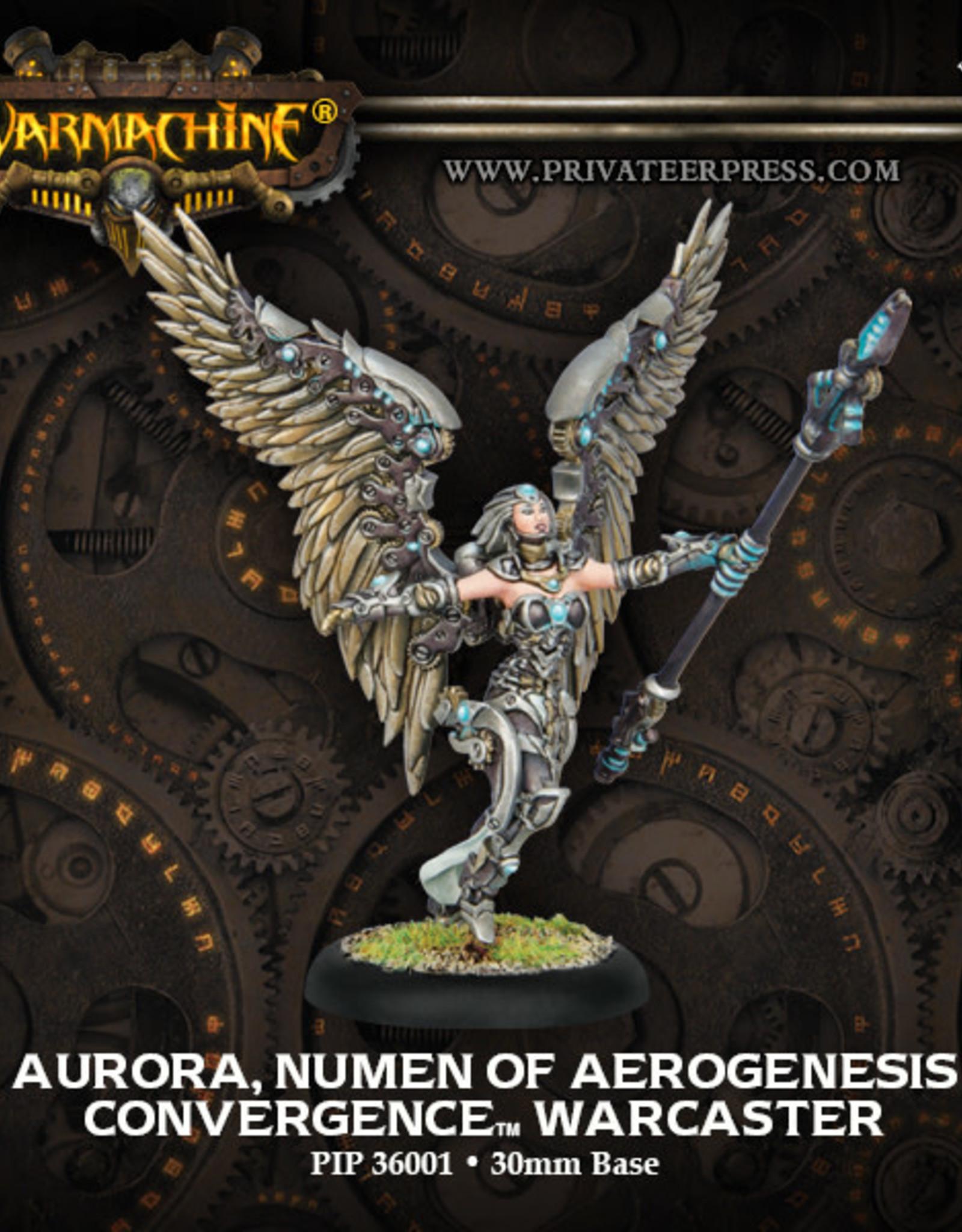 Warmachine Cyriss - Aurora, Numen of Aerogenesis