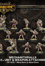 Warmachine Cryx - Mechanithralls w/weapon