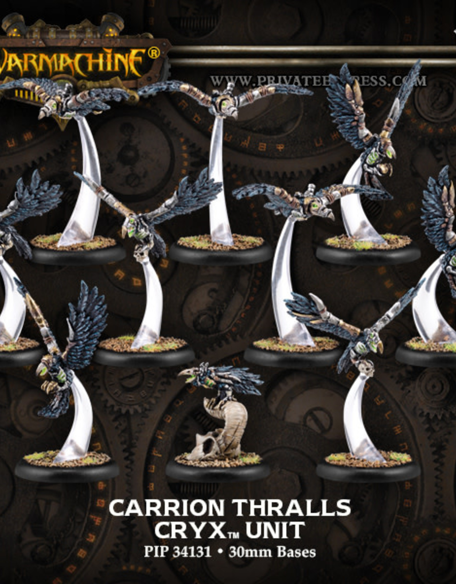 Warmachine Cryx - Carrion Thralls