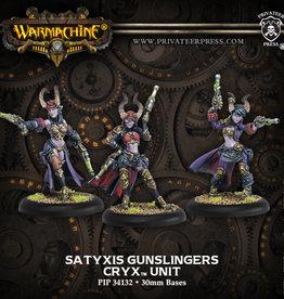 Warmachine Cryx - Satyxis Gunslingers
