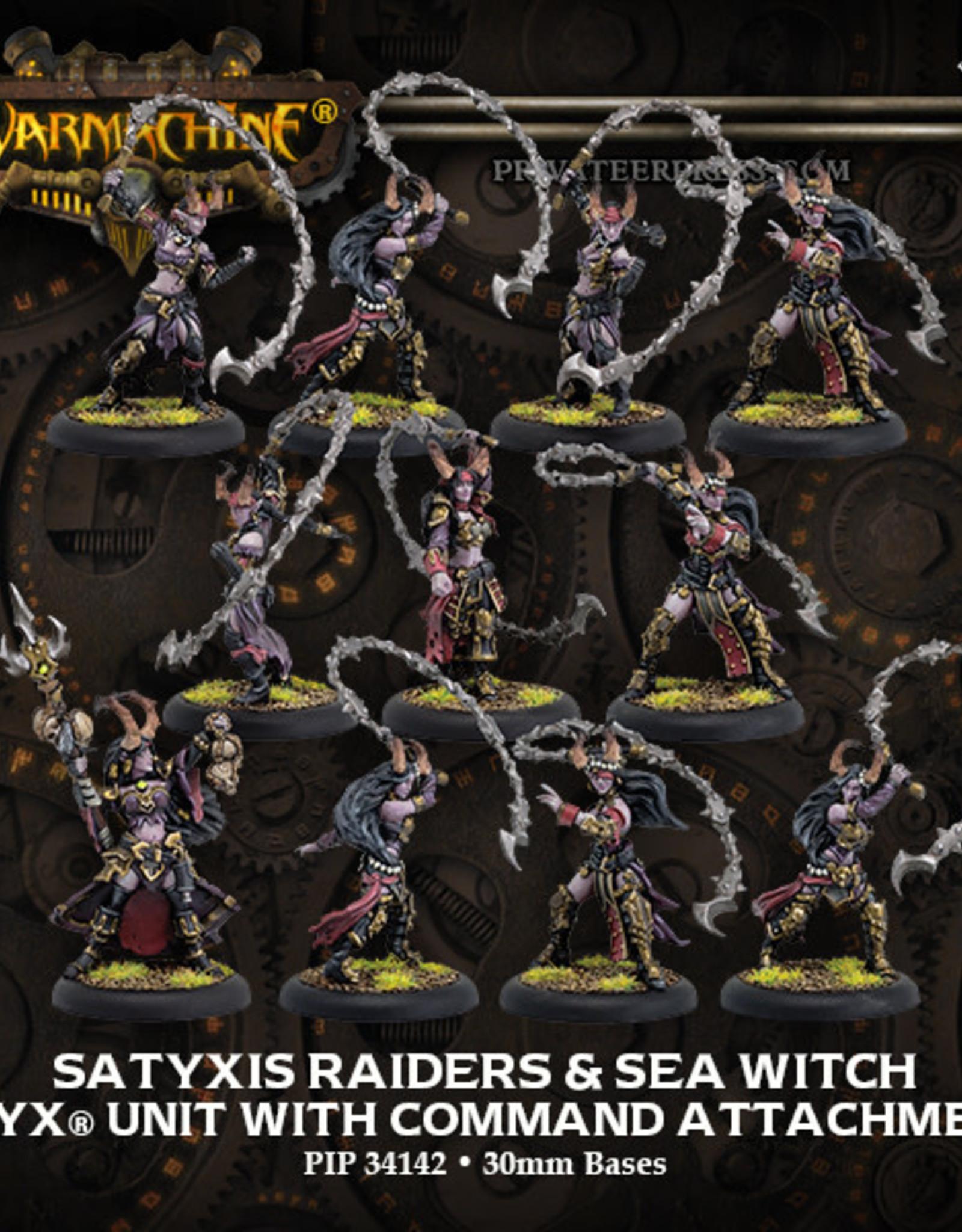 Warmachine Cryx - Satyxis Raiders & Sea Wi