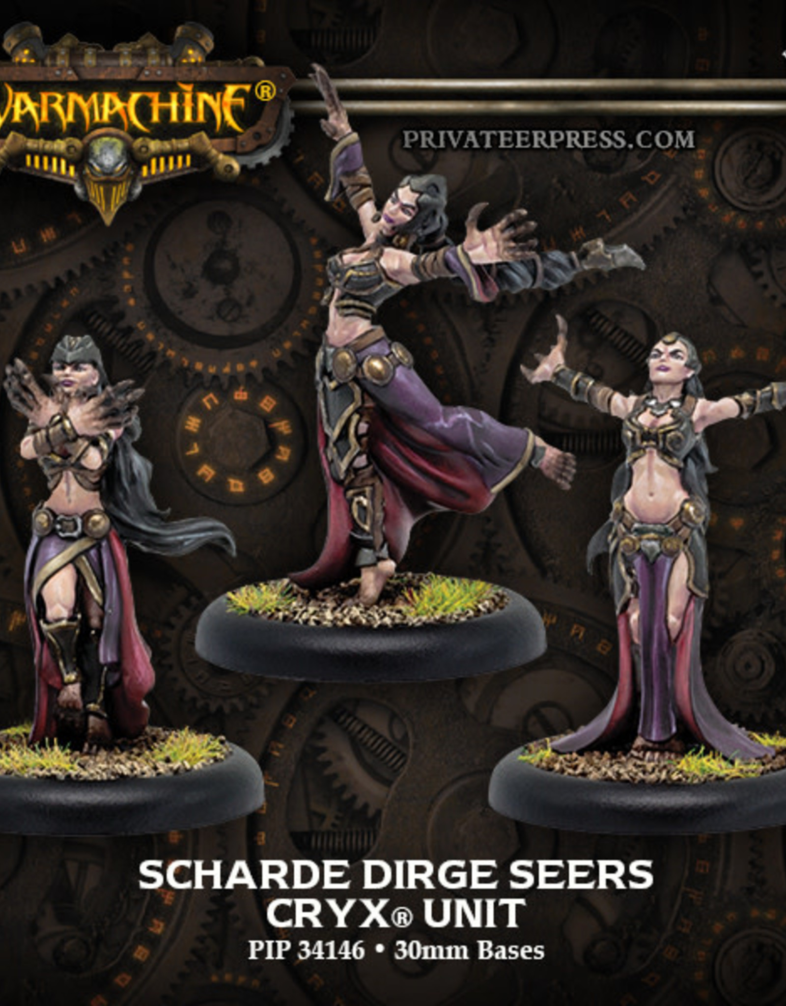Warmachine Cryx - Scharde Dirge Seers