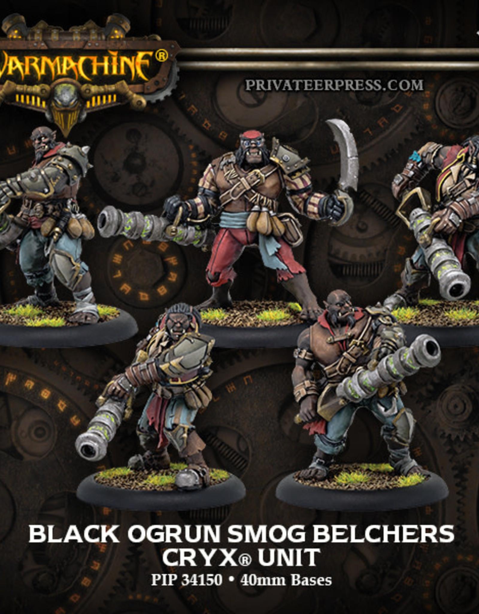 Warmachine Cryx - Black Ogrun Smog Belcher