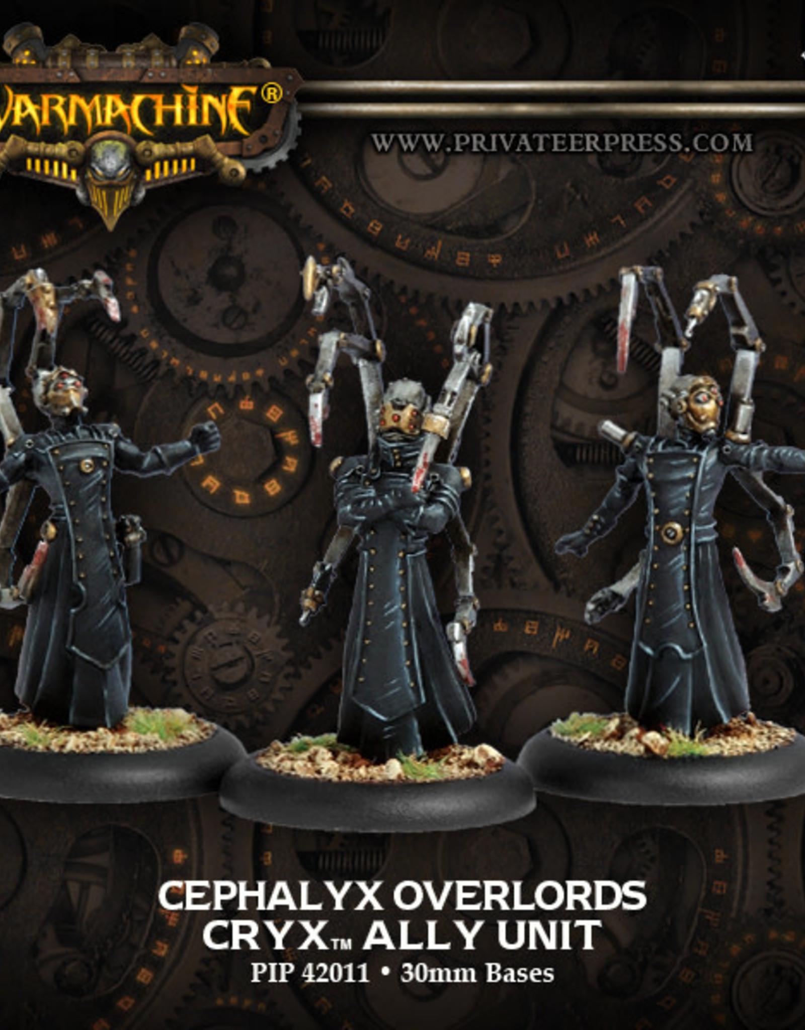 Warmachine Cryx - Cephalyx Overlords