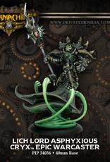 Warmachine Cryx - Lich Lord Asphyxious