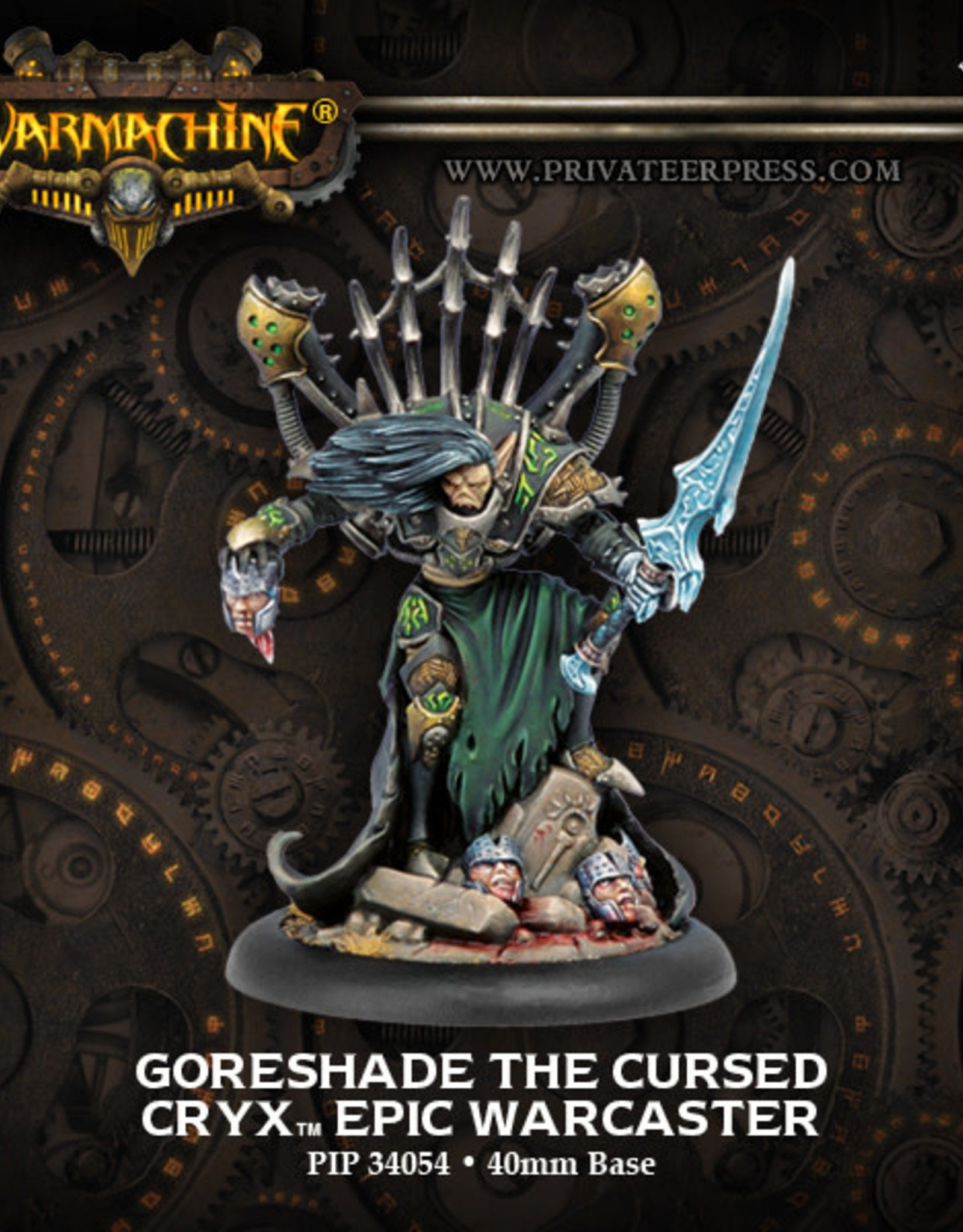 Warmachine Cryx - Goreshade the Cursed