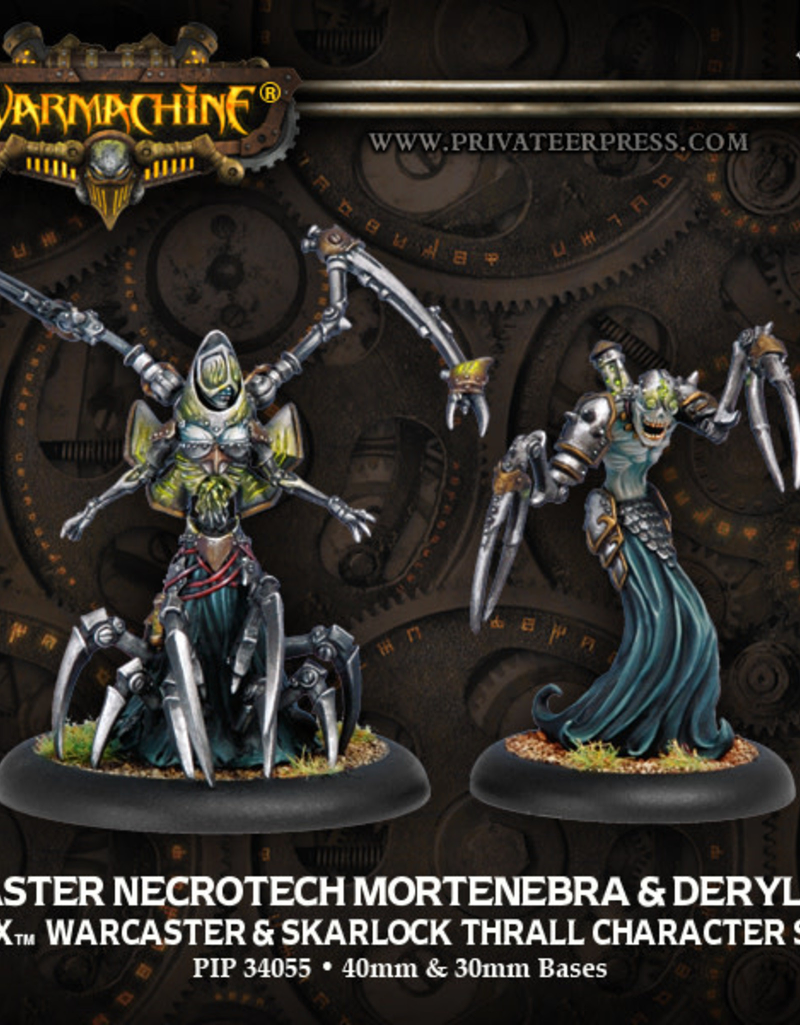 Warmachine Cryx - Mortenebra