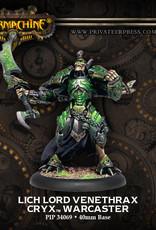 Warmachine Cryx - Lich Lord Venethrax