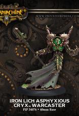 Warmachine Cryx - Iron Lich Asphyxious