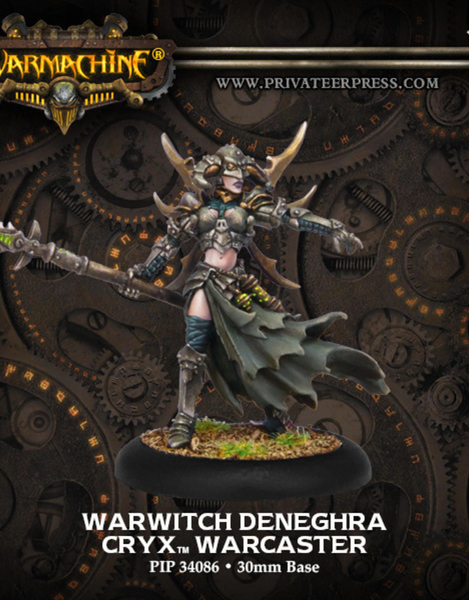 Warmachine Cryx - Warwitch Deneghra 2016