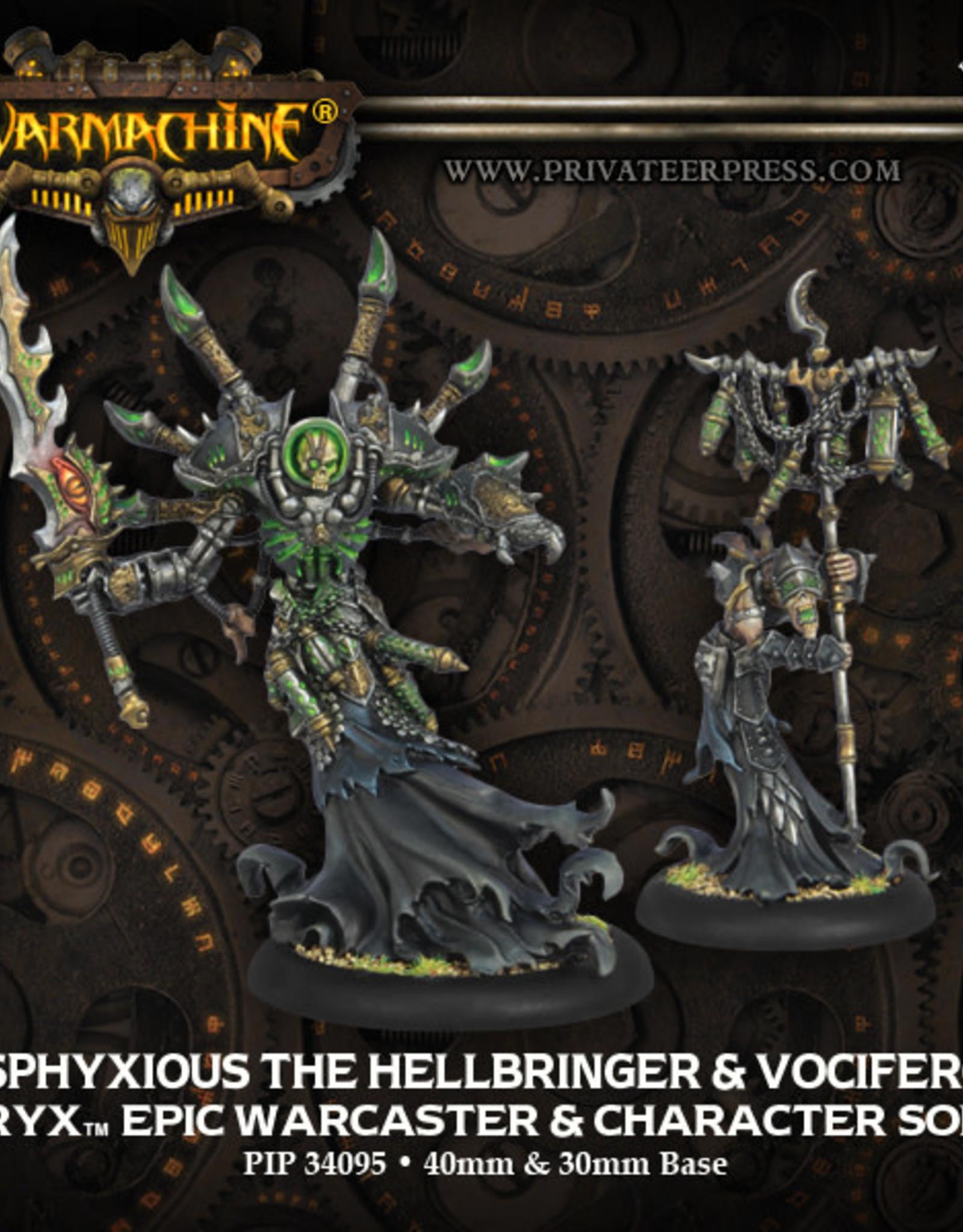 Warmachine Cryx - Asphyxious & Vociferon