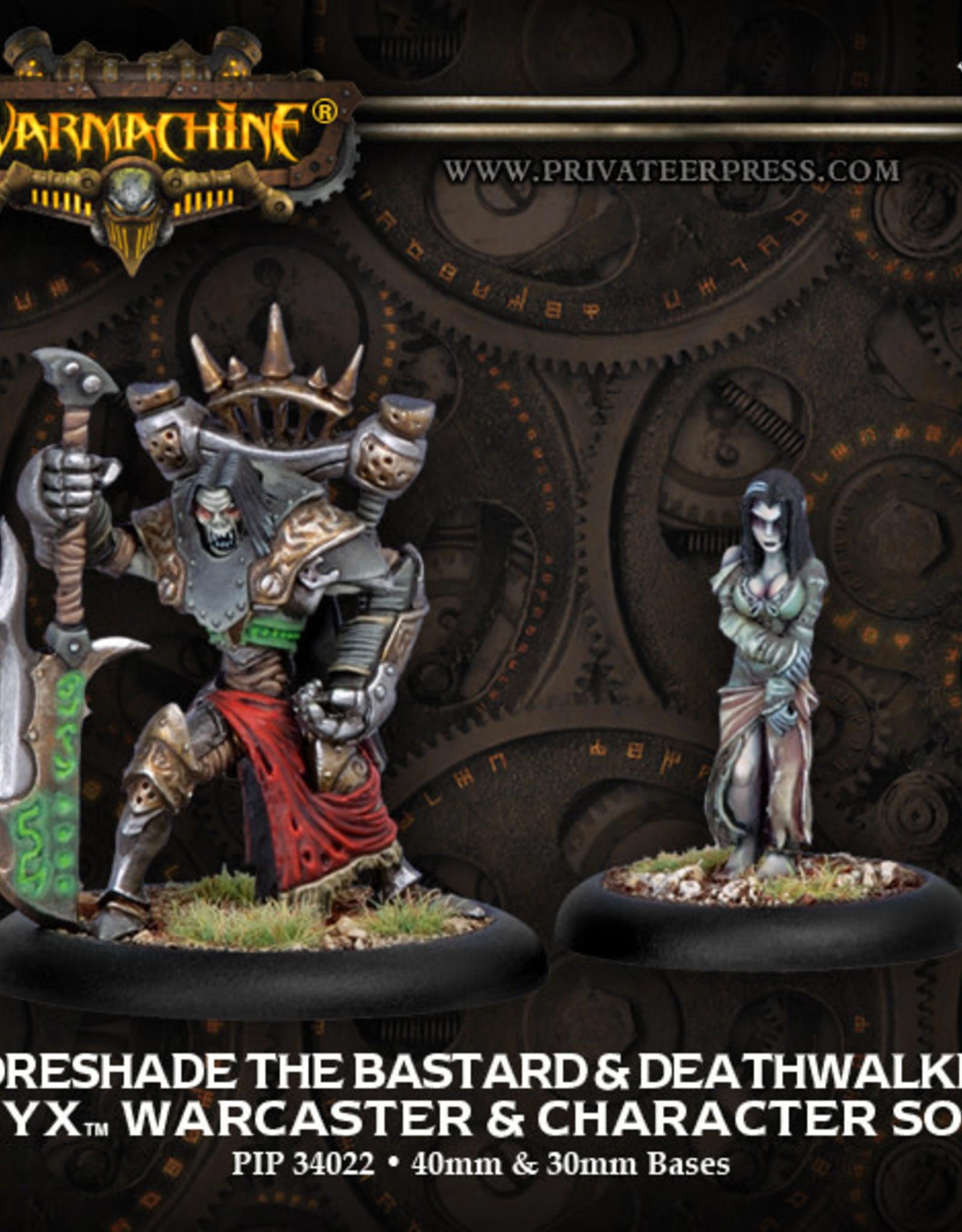 Warmachine Cryx - Goreshade the Bastard & Deathwalker