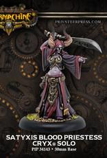 Warmachine Cryx - Satyxis Blood Priestess