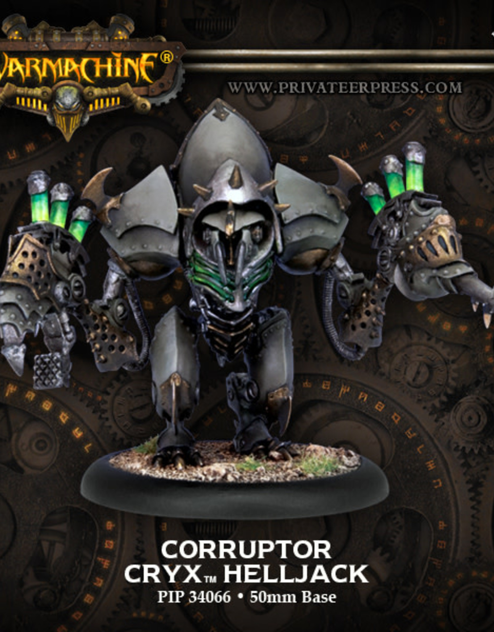 Warmachine Cryx - Corruptor/Reapers/Slayer Helljack Box