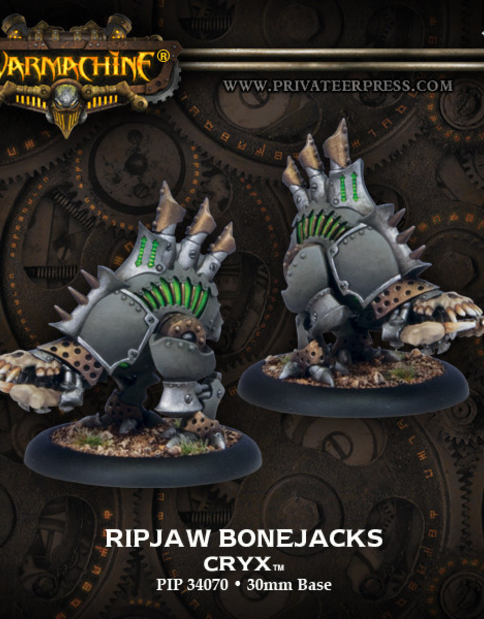 Warmachine Cryx - Ripjaw Bonejacks