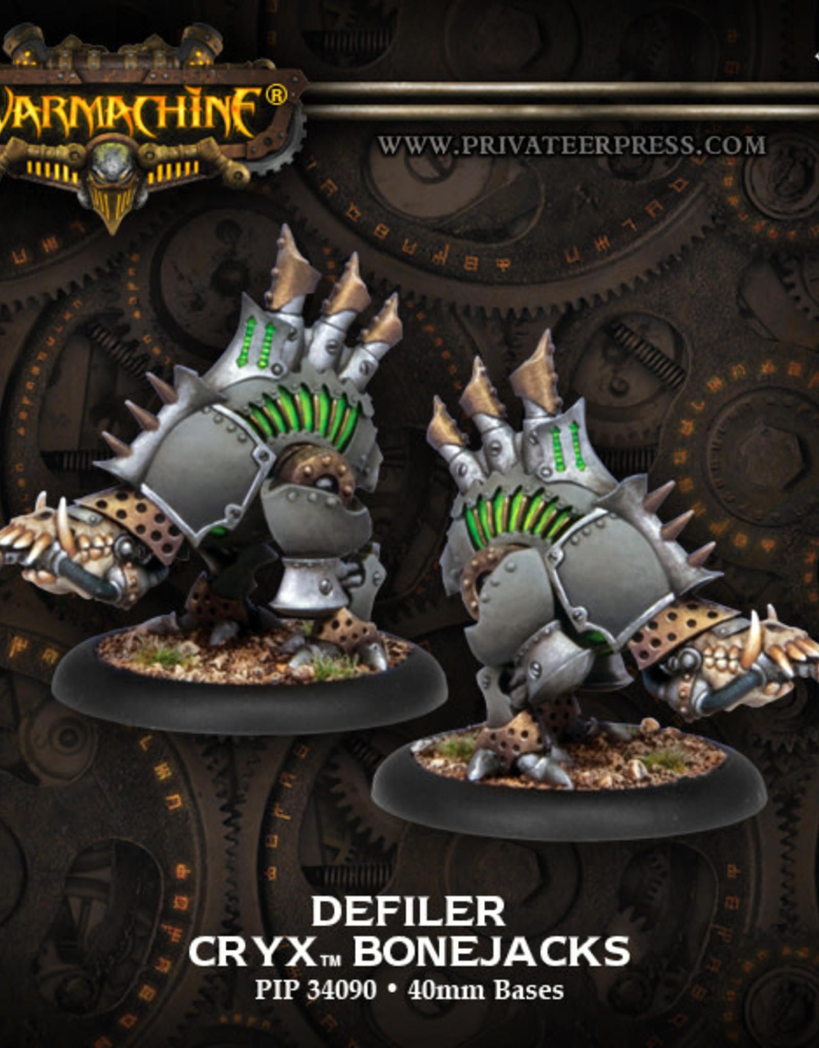 Warmachine Cryx - Defiler