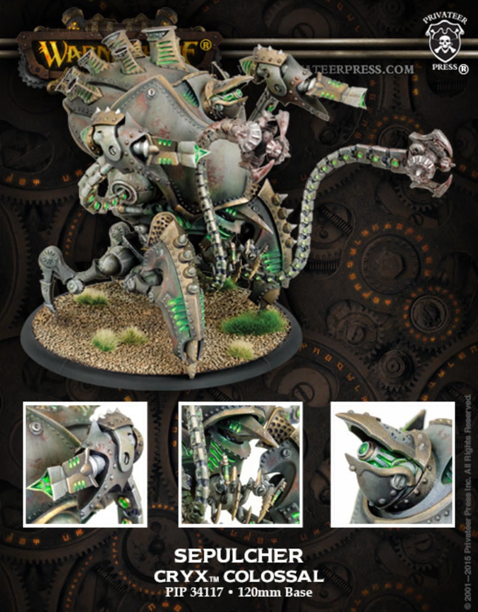 Warmachine Cryx - Kraken/Sepulcher