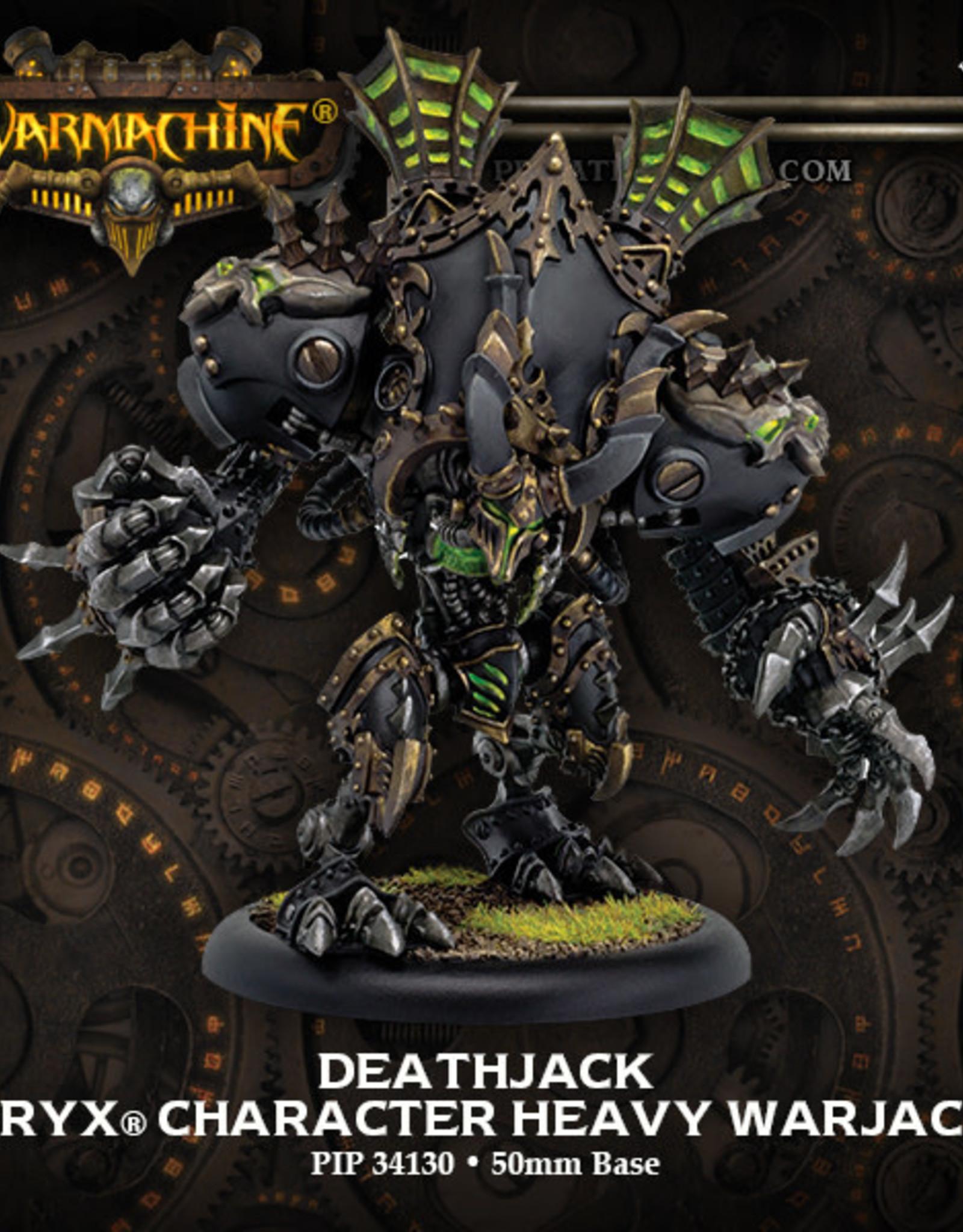Warmachine Cryx - Deathjack (resculpt)