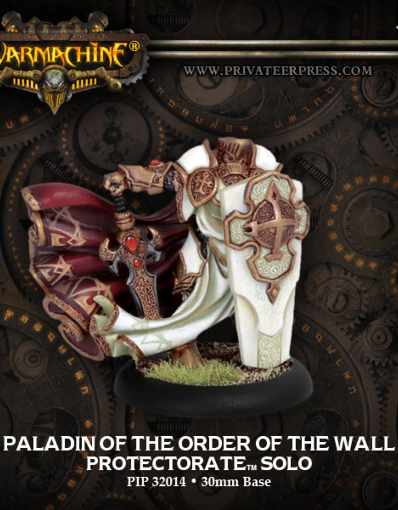 Warmachine Protectorate - Paladin