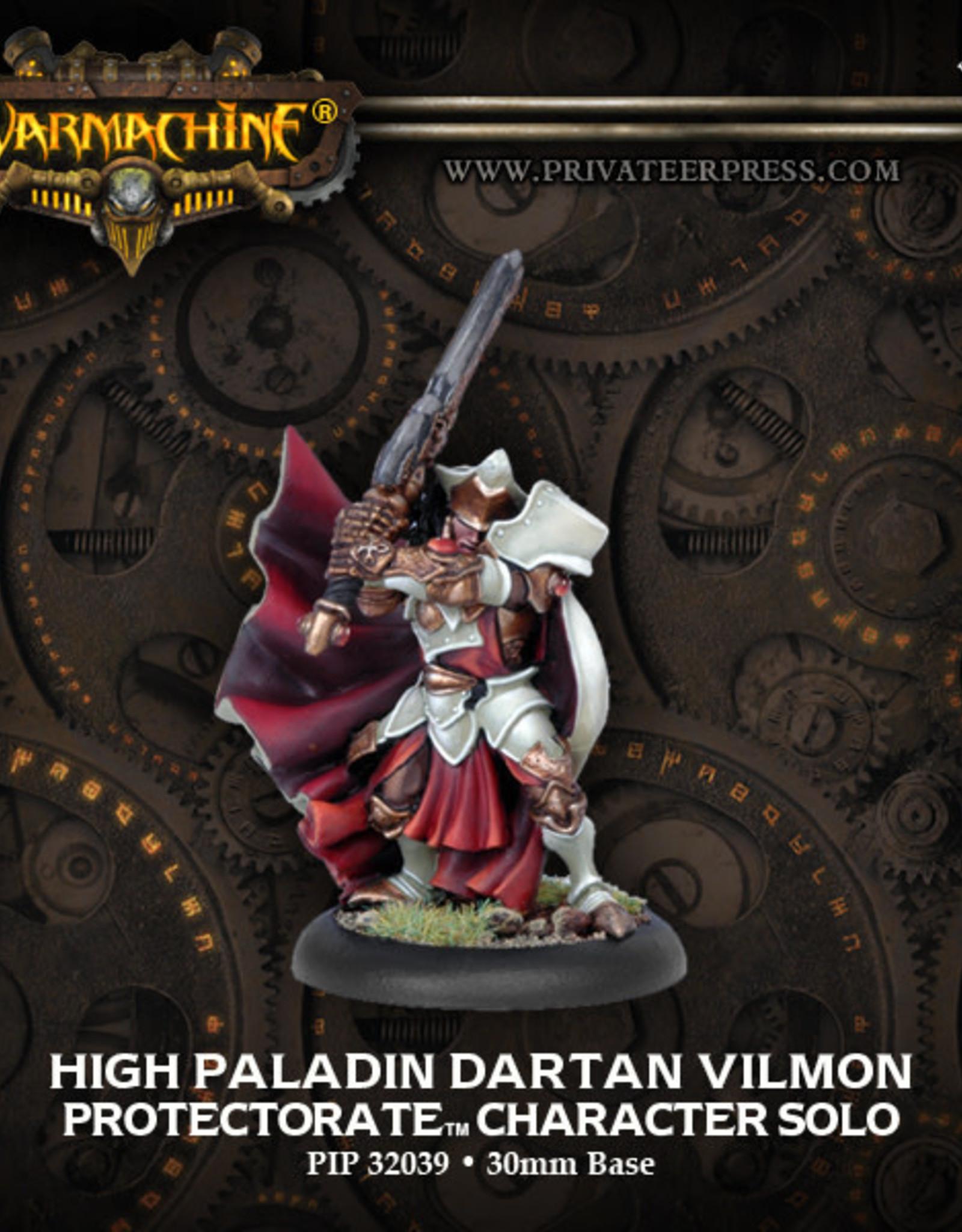 Warmachine Protectorate - High Paladin Dartan Vilmon