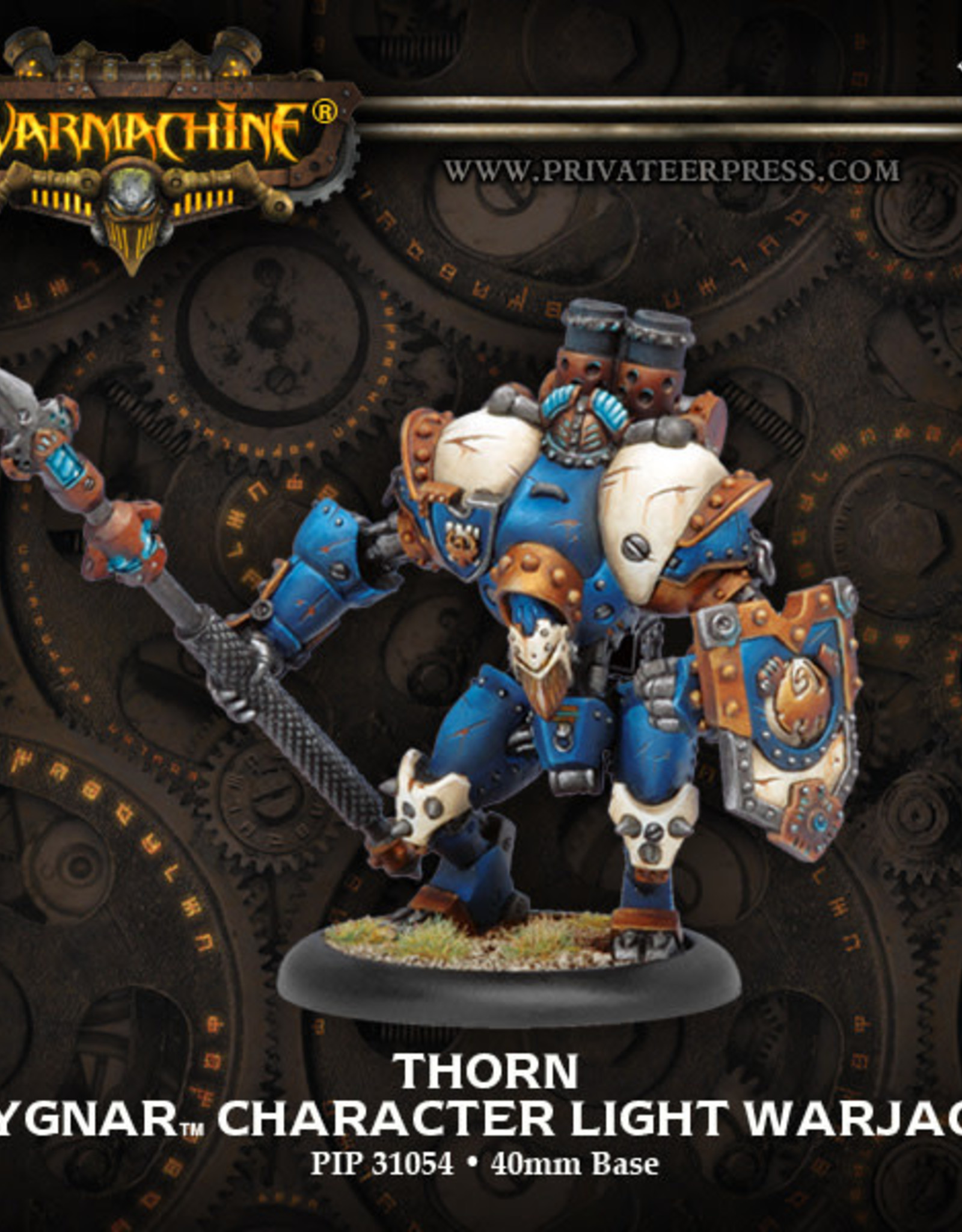 Warmachine Cygnar - Thorn