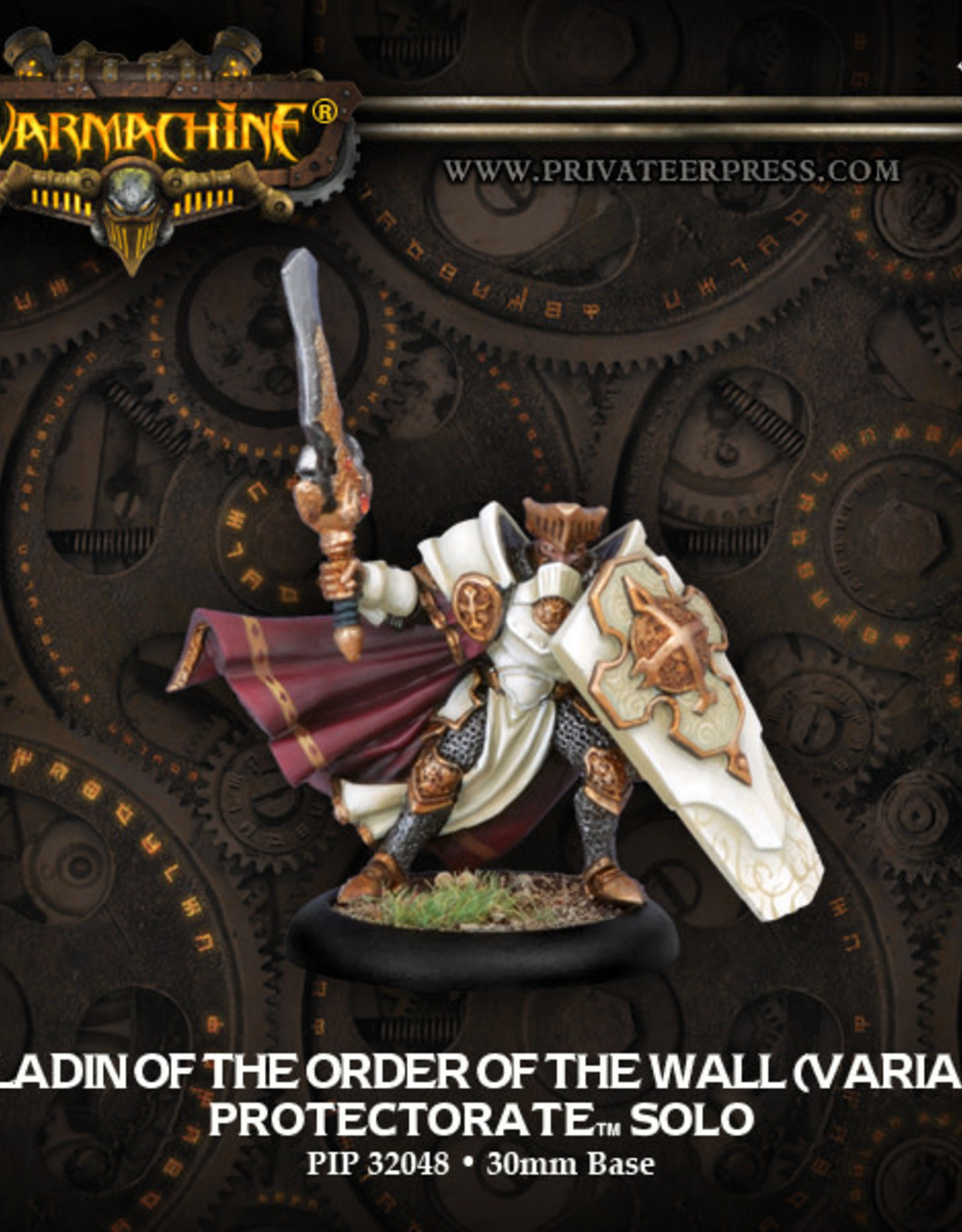 Warmachine Protectorate - Paladin of the Wall