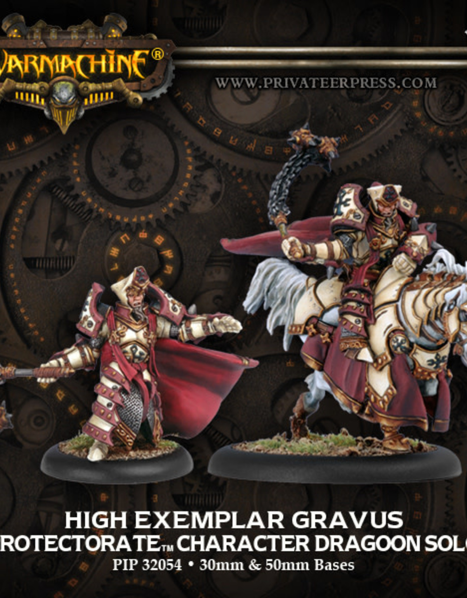 Warmachine Protectorate - High Exemplar Gravus
