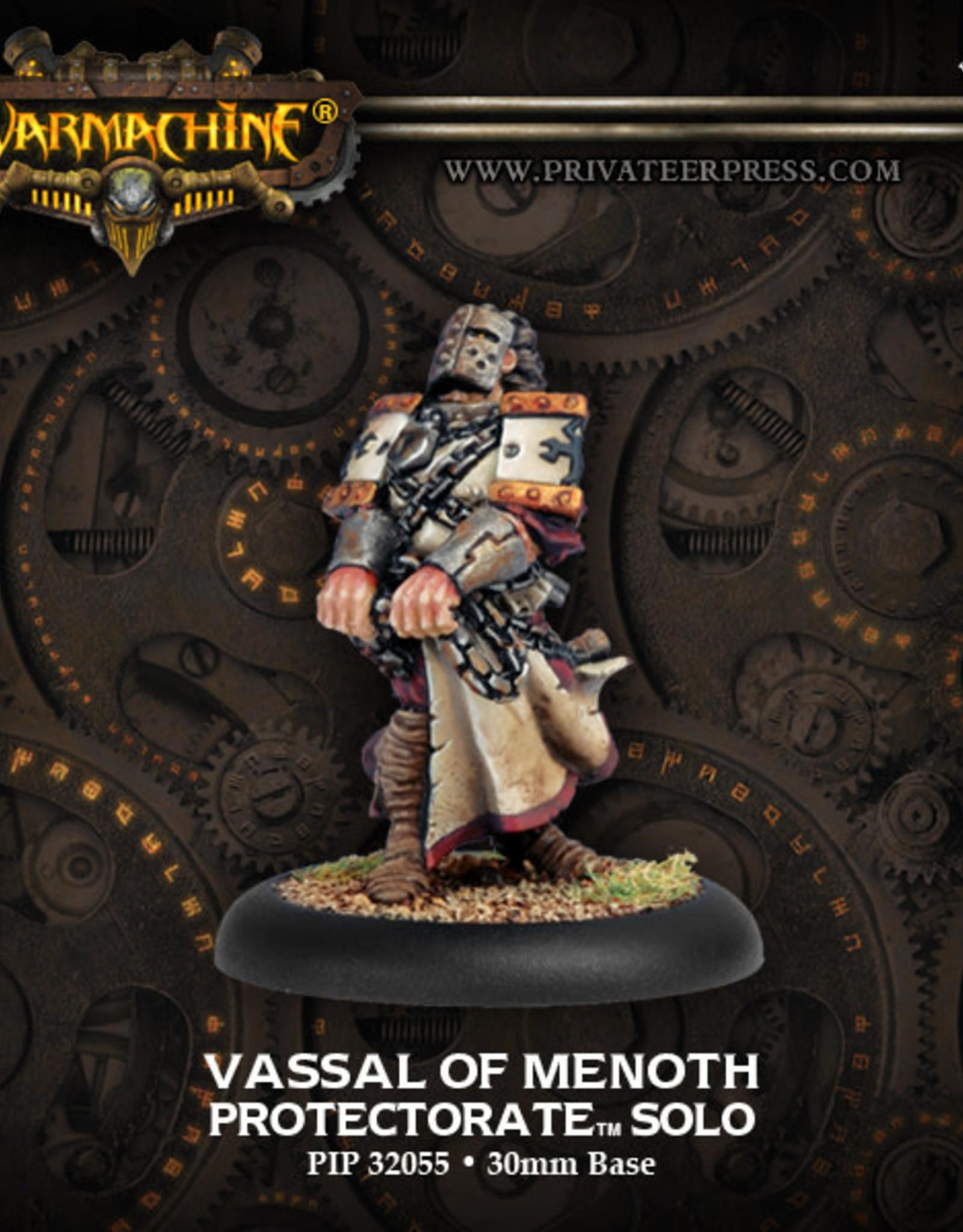 Warmachine Protectorate - Vassal of Menoth