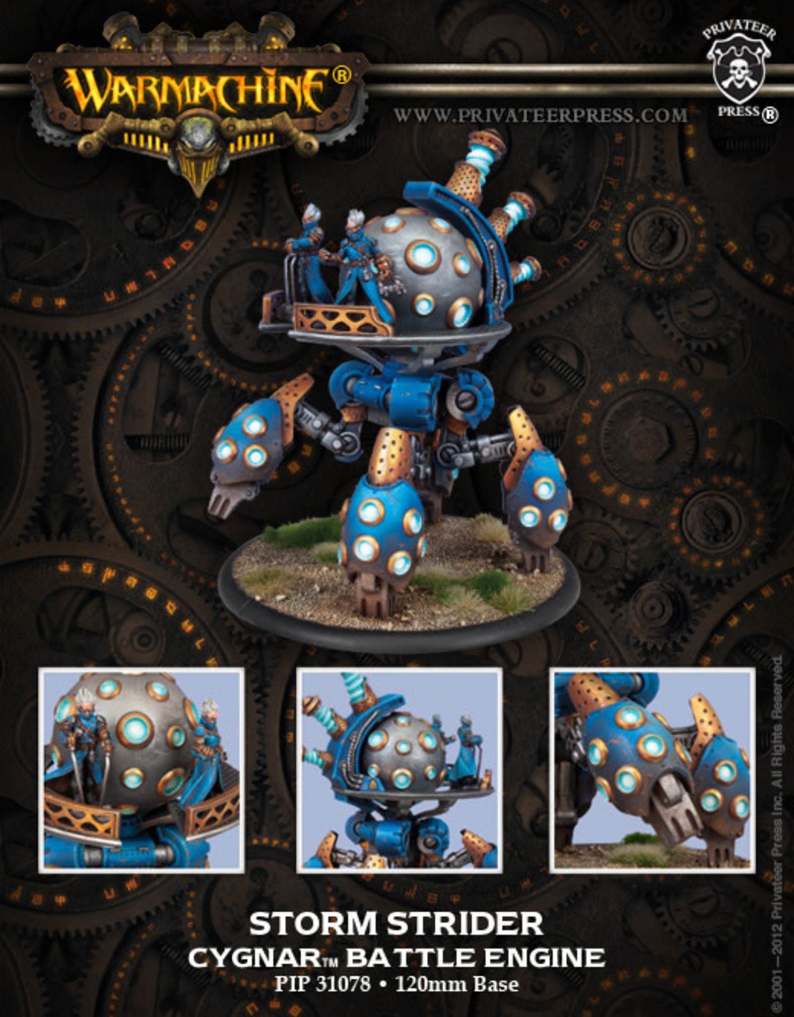 Warmachine Cygnar - Storm Strider