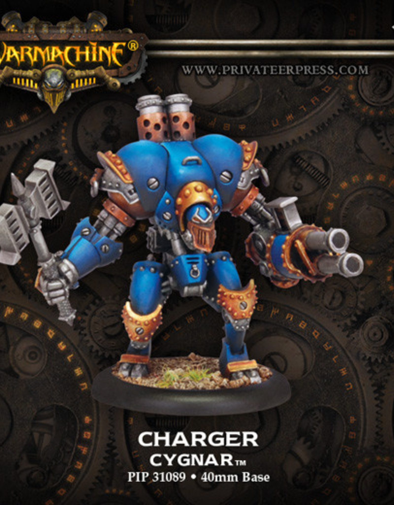 Warmachine Cygnar - Charger