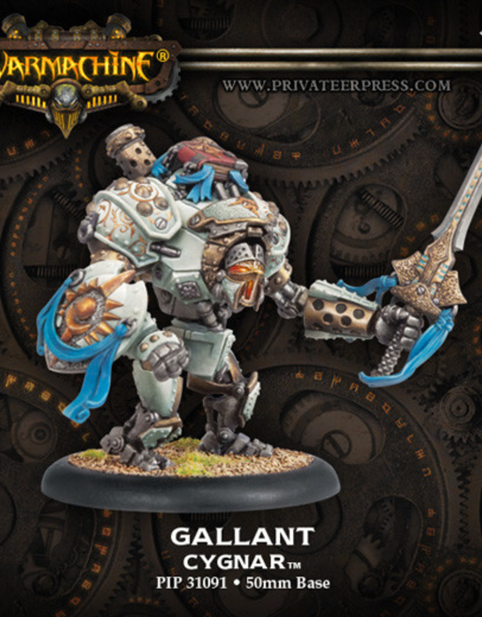 Warmachine Cygnar - Gallant Kit