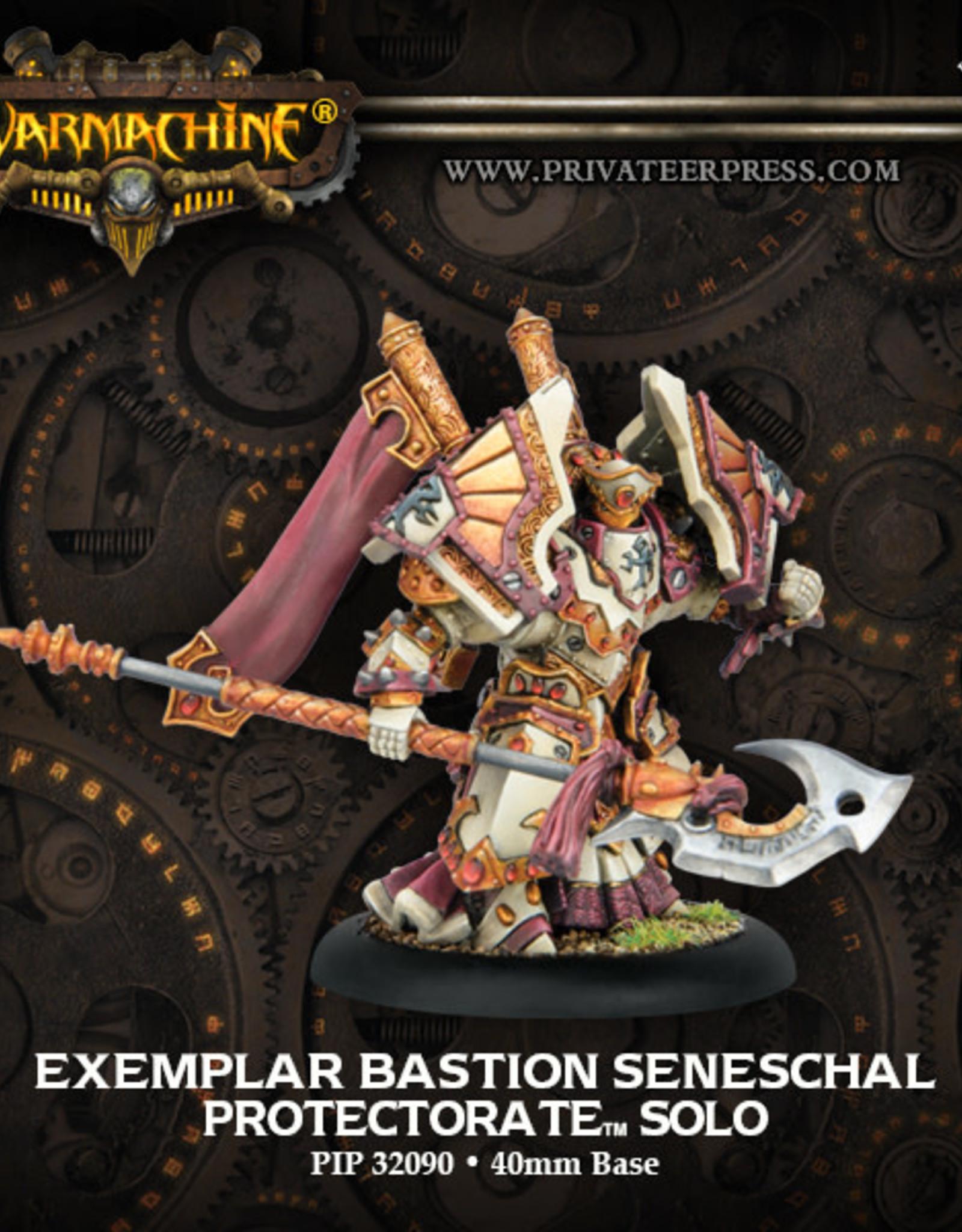 Warmachine Protectorate - Exemplar Bastion Seneschal