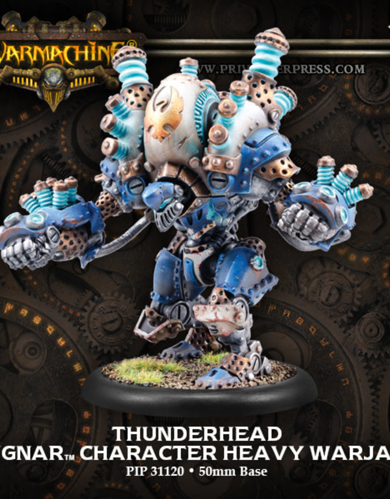 Warmachine Cygnar - Thunderhead