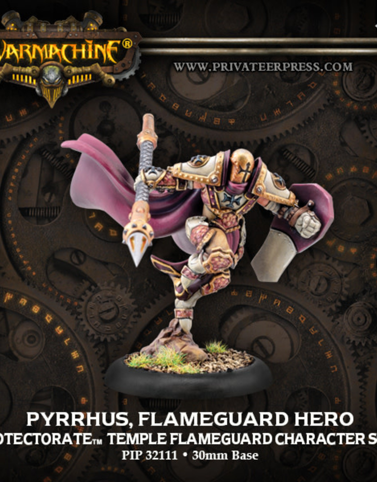Warmachine Protectorate - Pyrrhus Flameguard Hero