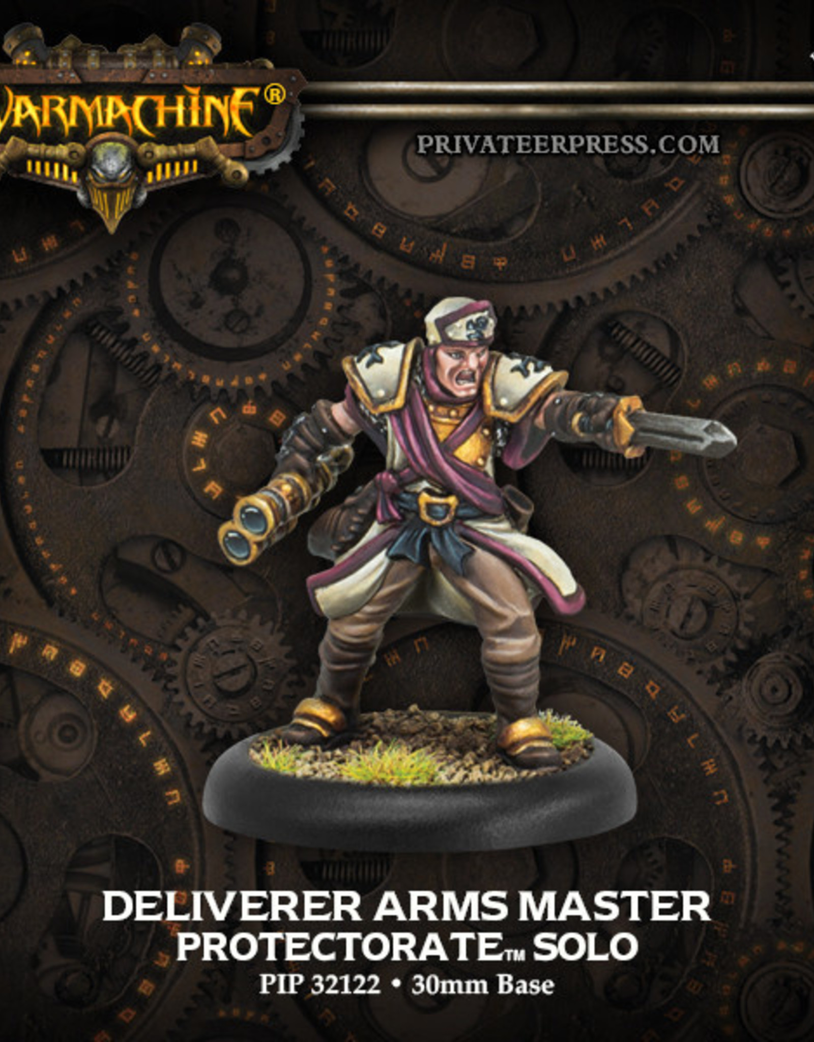 Warmachine Protectorate - Deliverer Arms Master