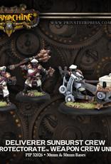 Warmachine Protectorate - Sunburst Crew