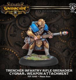 Warmachine Cygnar - Trencher Grenade Port