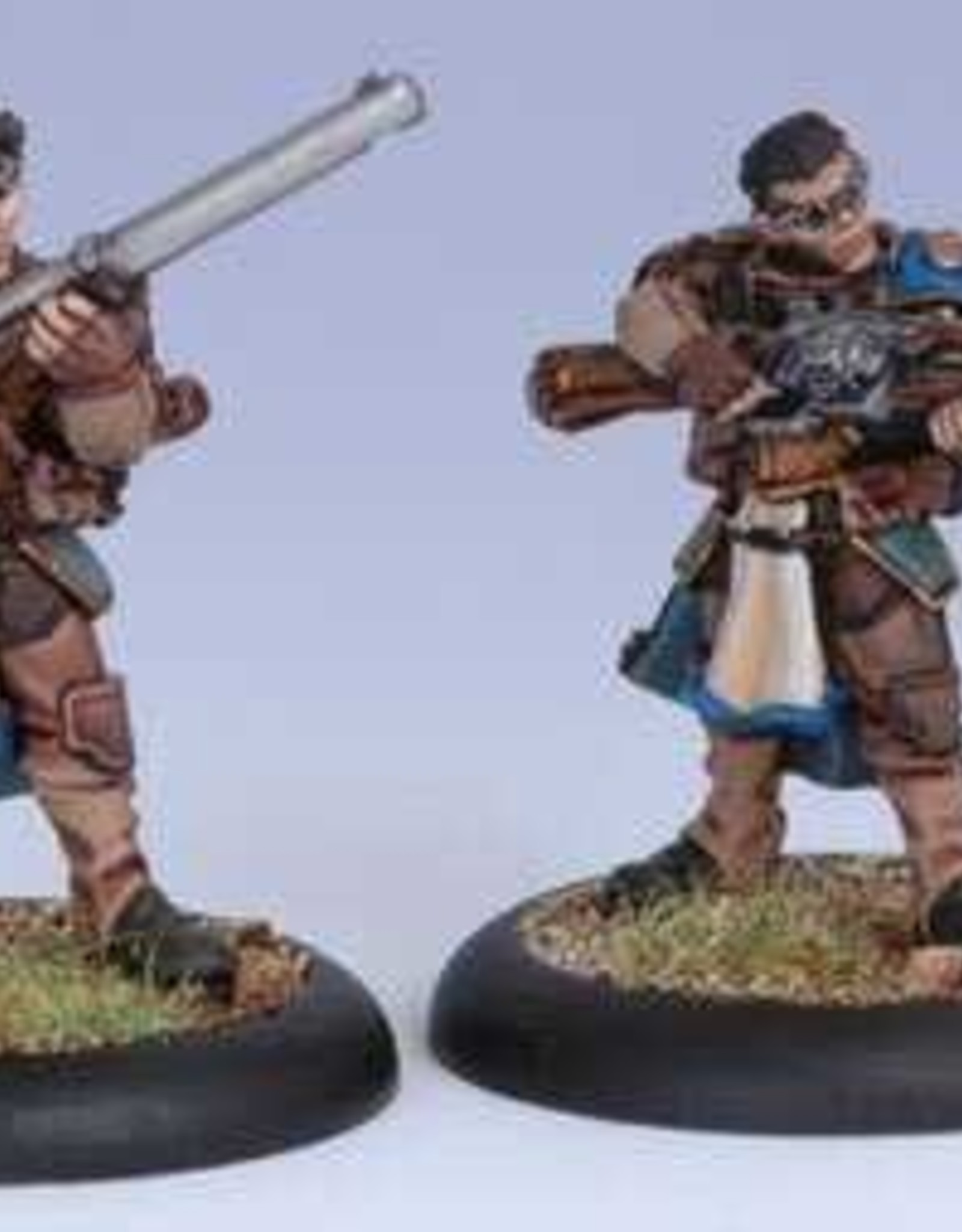 Warmachine Cygnar - Long Gunners Blister (2)
