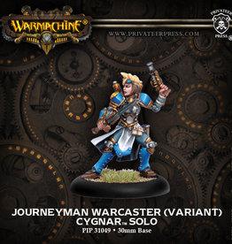 Warmachine Cygnar - Journeyman Caster (v)