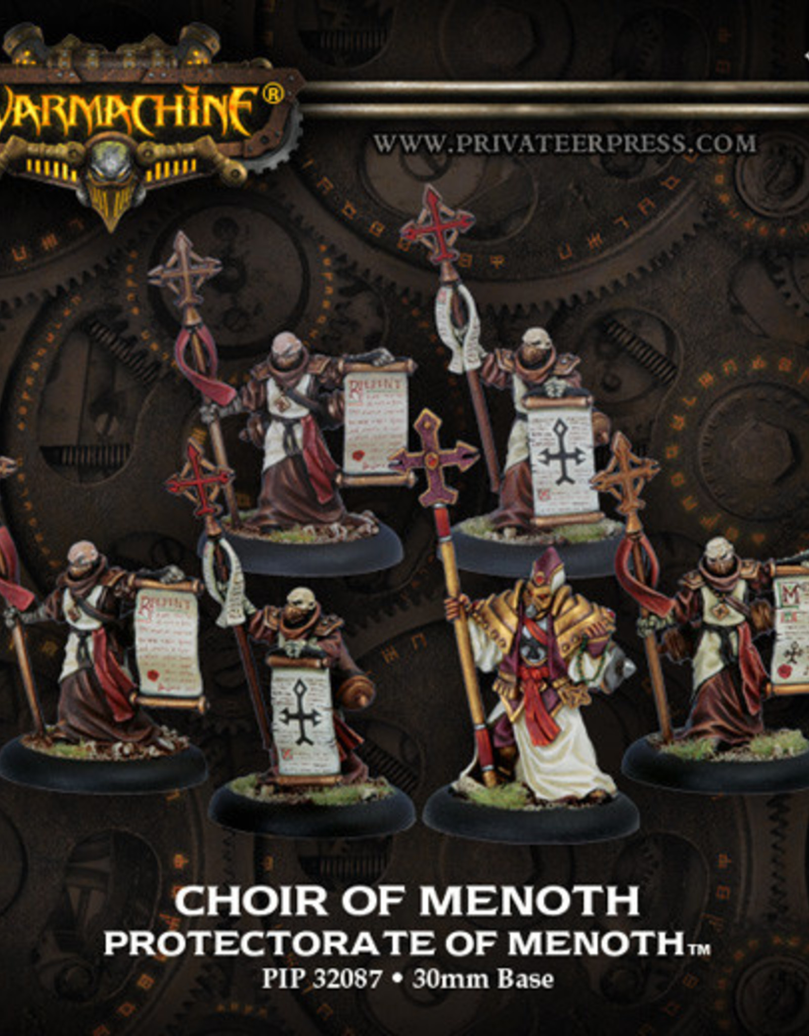 Warmachine Protectorate - Choir of Menoth