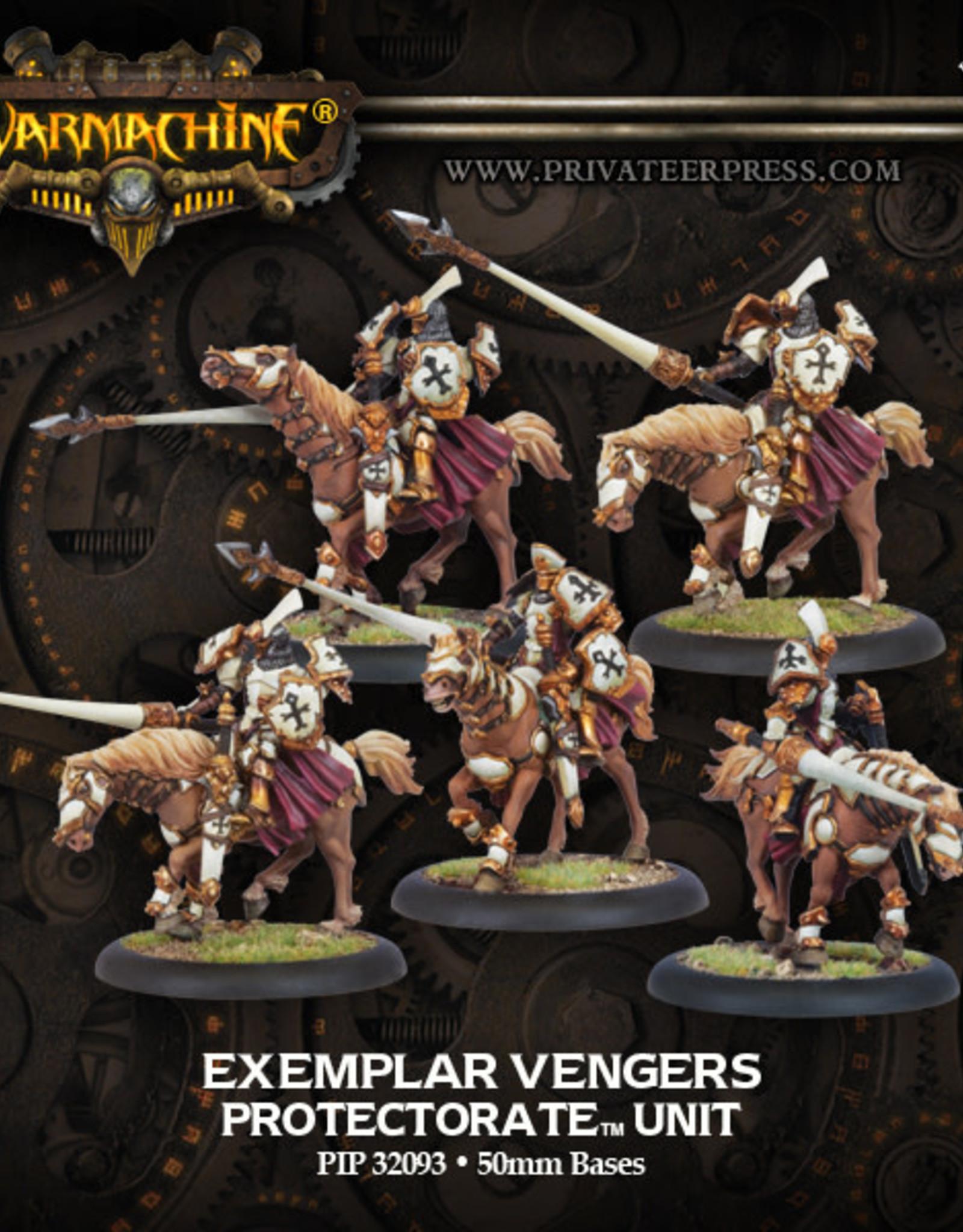 Warmachine Protectorate - Exemplar Vengers