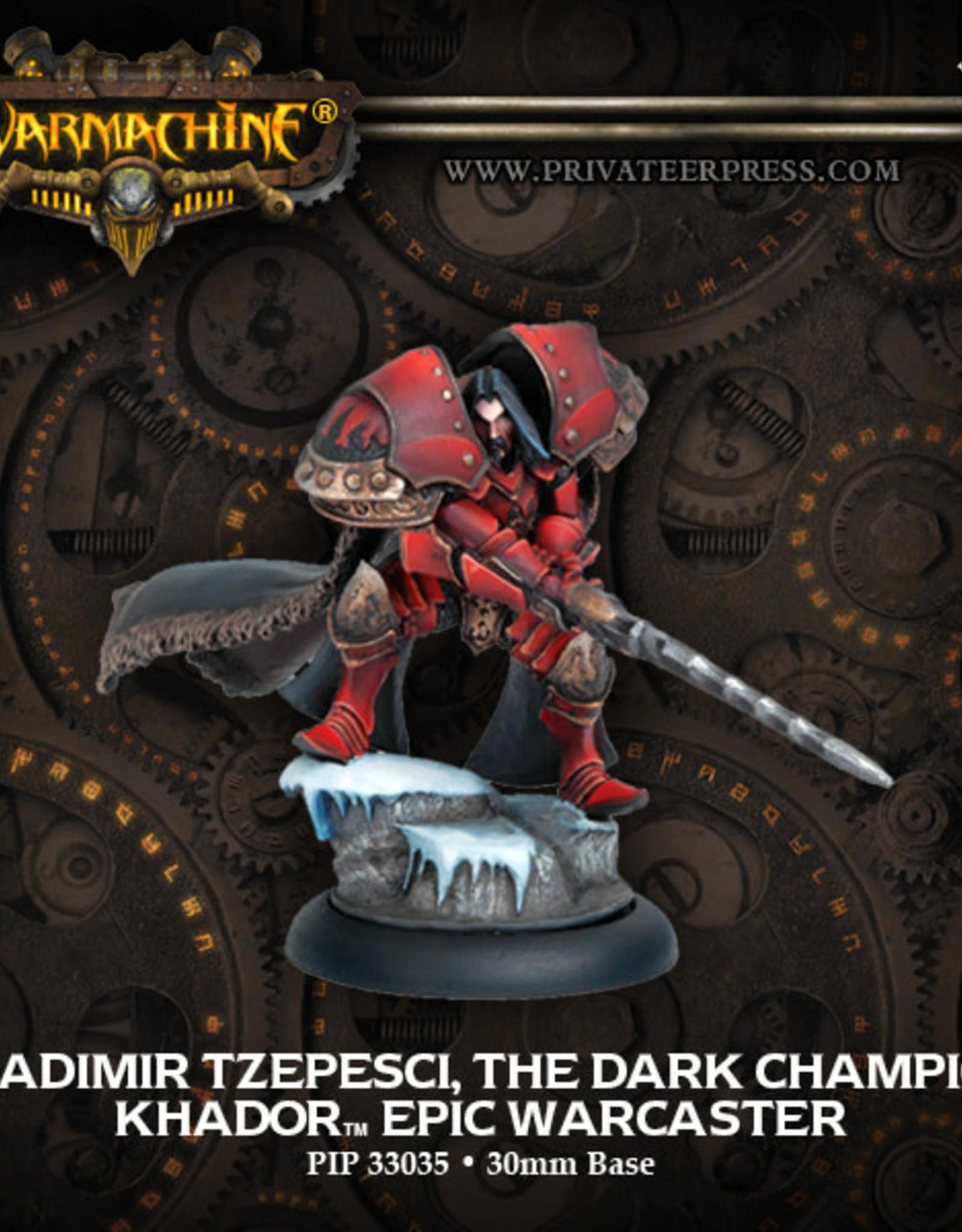 Warmachine Khador - Epic Vlad the Dark Champion