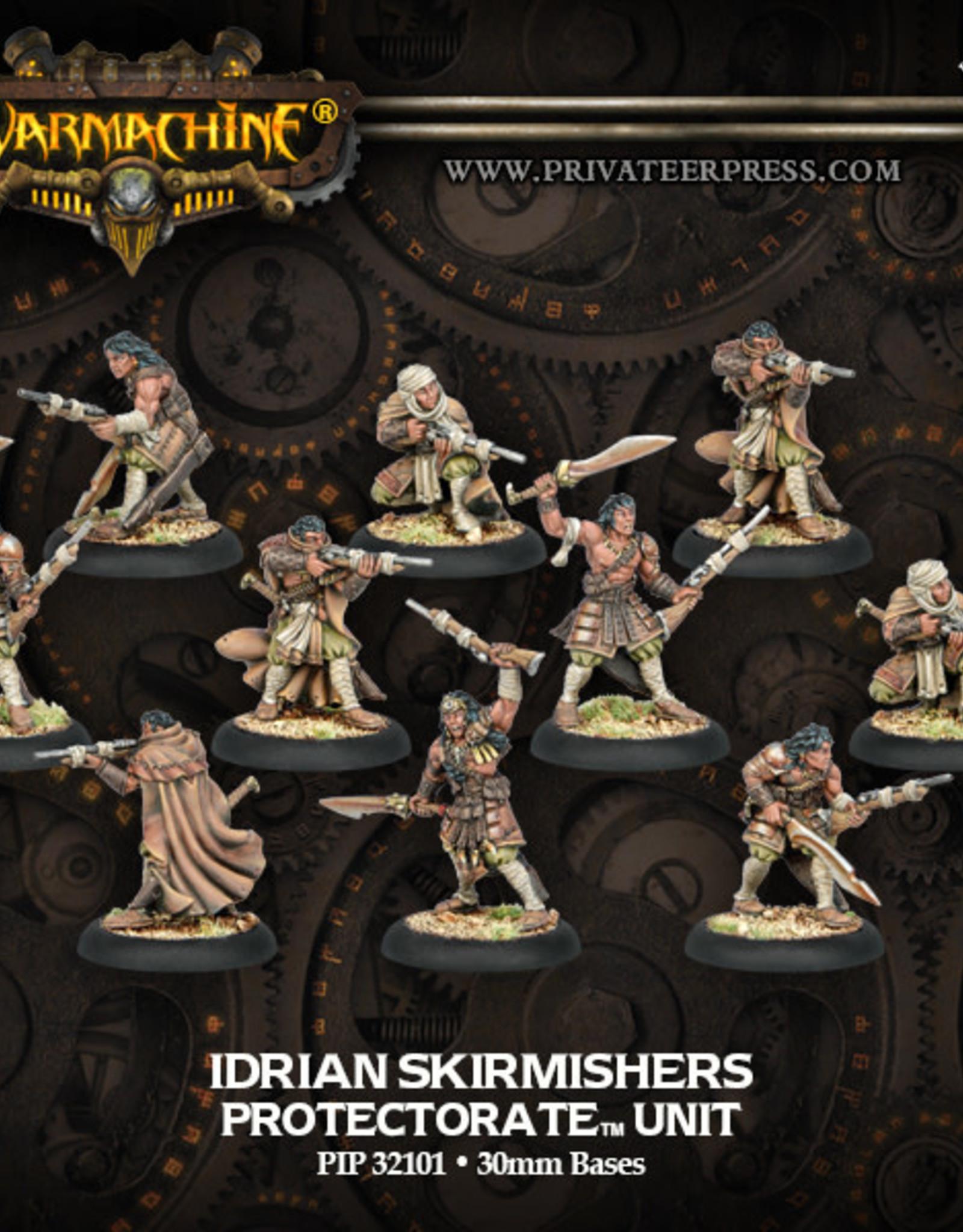 Warmachine Protectorate Idrian Skirmishers