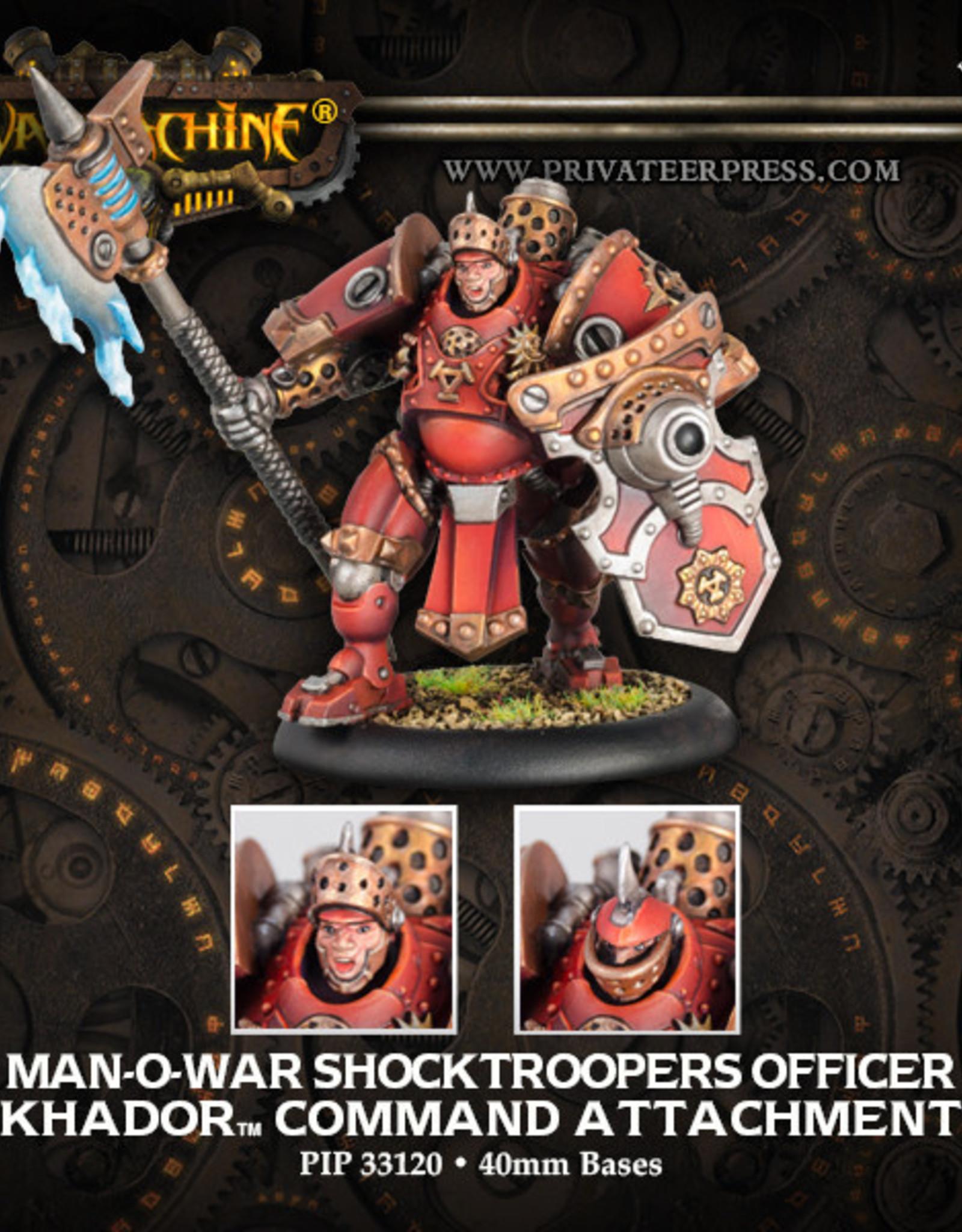Warmachine Khador - MoW Shocktrooper Officer