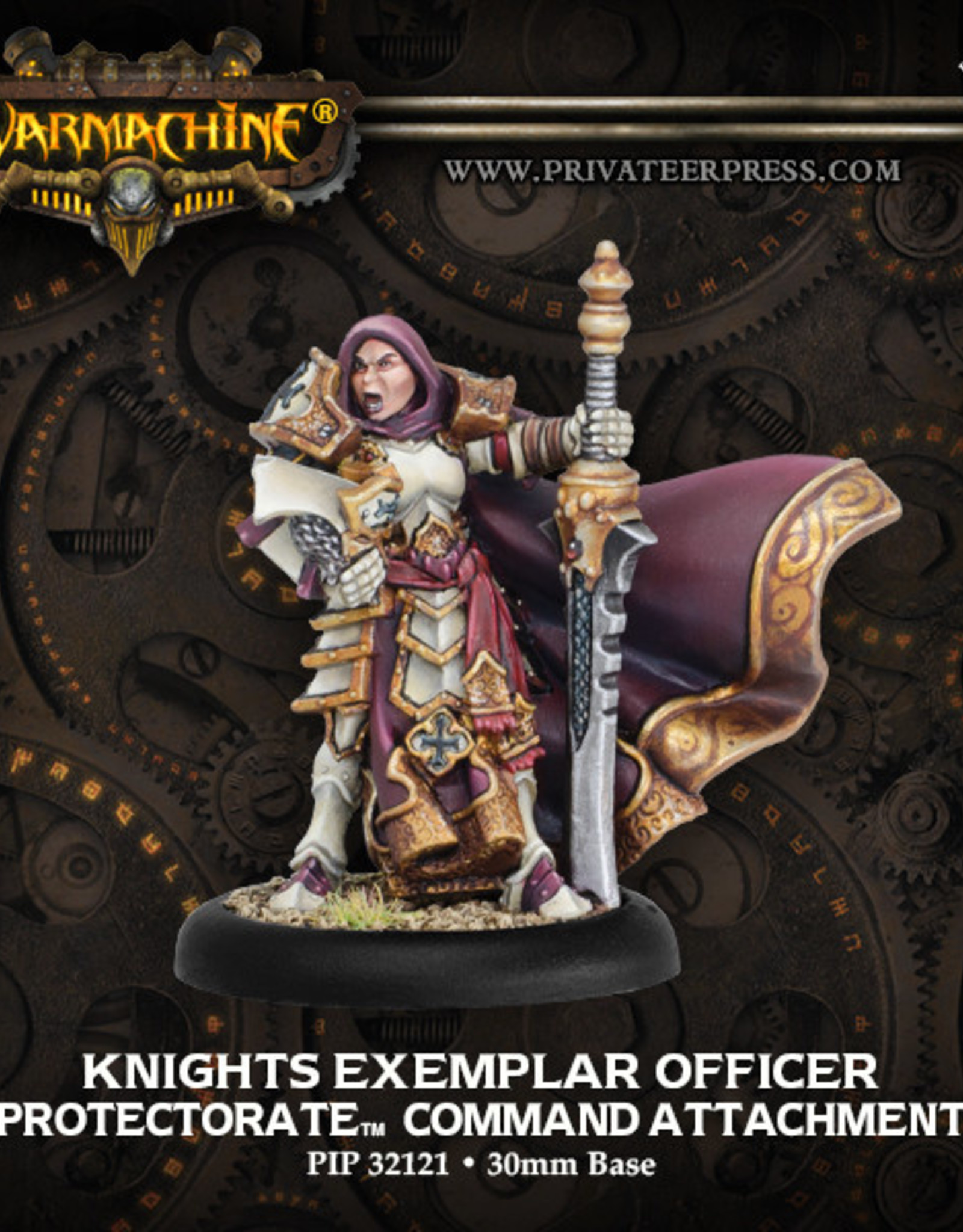Warmachine Protectorate - Knights Exemplar Officer